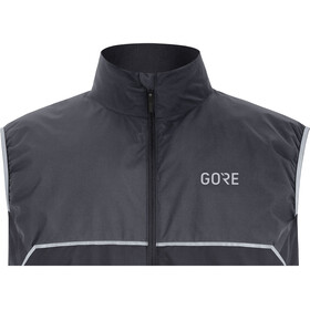GORE WEAR R7 Partial Gore-Tex Infinium Vest Herrer, black/terra grey